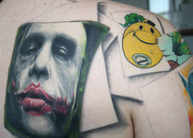 the joker tattoo cont.... by carlyshephard