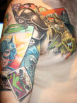 batman graphic novel tattoo