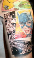 batman tattoo sleeve by carlyshephard