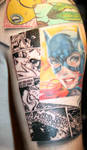 batman tattoo sleeve
