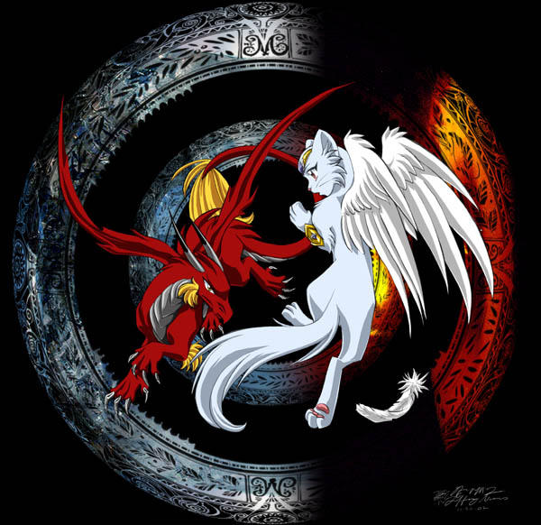 Fire And Ice By Tiffa