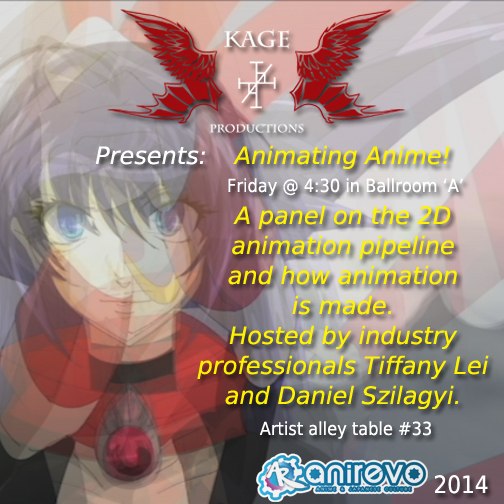 Animating Anime by tiffa