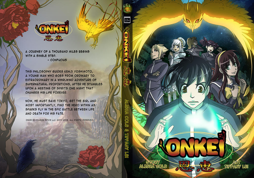 Onkei the Graphic Novel by tiffa