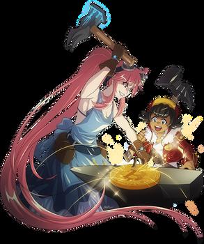 Anime Coin - Blacksmiths