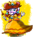 Mario and Sonic Custom Render #57: Princess Daisy by GameArtist1993