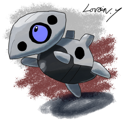 Krita Pokemon #79: Aron by GameArtist1993