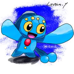 Krita Pokemon #83: Manaphy by GameArtist1993