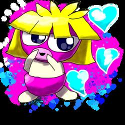 Krita Pokemon #87: Smoochum by GameArtist1993