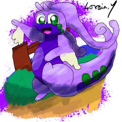 Krita Pokemon #90: Goodra by GameArtist1993