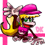 Future Smashers Candidate #15: Dixie Kong by GameArtist1993