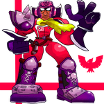 Future Smashers #19: Blood Falcon by GameArtist1993