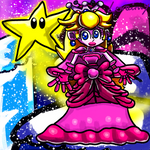 Peach, cute Princess of the Christmas Kingdom by GameArtist1993