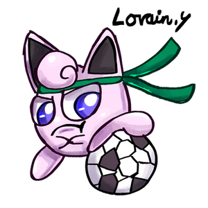 Jigglypuff the Striker - Nintendolympics Collab
