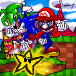 Mario and Sonic (2021) by GameArtist1993