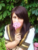 Escolar y una flor by wendylizana