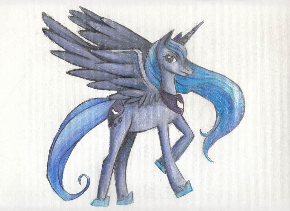 Princess Luna by wendylizana