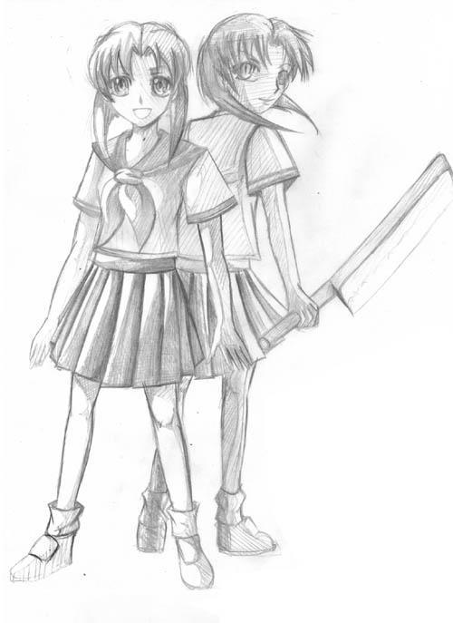 Rena sketch by wendylizana