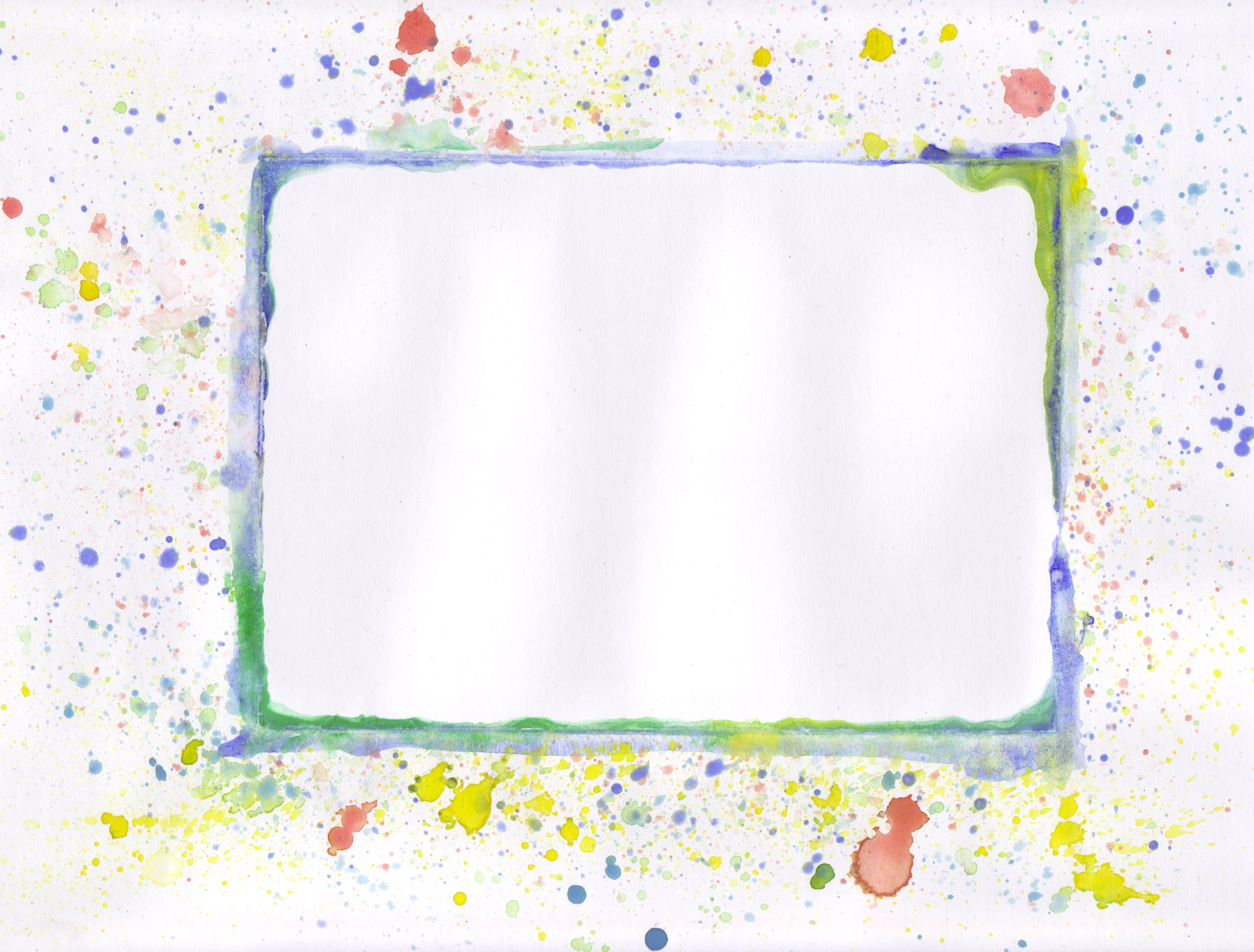 Painted frame - 02