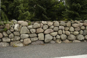 Stone fence - 01 by LunaNYXstock