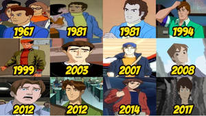 Peter Parker - Evolution