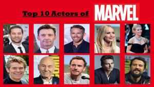 Top 10 Actors of Marvel