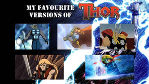 My favourite versions of Thor