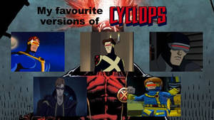 My favourite versions of Cyclops