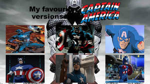 My favourite versions of Captain America