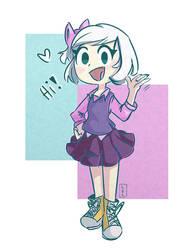 Hi! I'm a hooman! by the-EVIL-bunny23