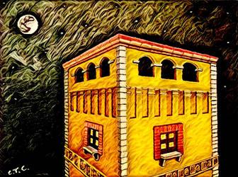 Luna llena efecto digital by carlossimio
