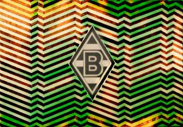 Borussia Monchengladbach logo efecto digital by carlossimio