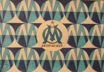 Olimpique de Marseille logo by carlossimio