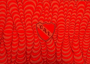 Independiente logo efecto digital by carlossimio