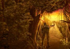 Commission: The Survivors 2 Cover Art