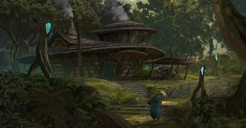 Hut by TimoKujansuu