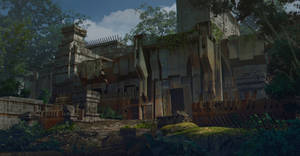 Decaying fort