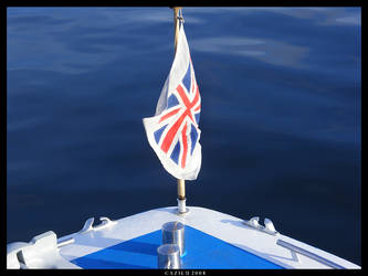 Flag on Miss Cumbria by Cazilu