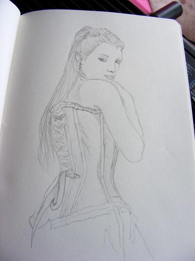corset by Cazilu