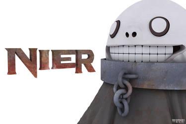 Nier Character by Sandarken