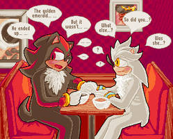 Shadilver First Date by SugarySweetSprites