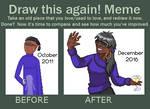 Draw This Again by SugarySweetSprites