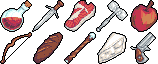 Generic Inventory Items by SugarySweetSprites