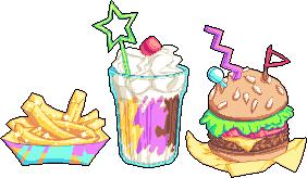 90s Fast Food by SugarySweetSprites