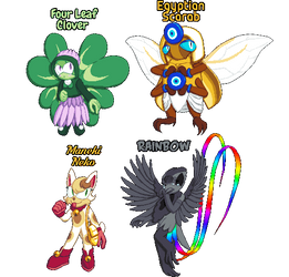 Character Design Practice Good Luck Charms by SugarySweetSprites