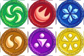 Pixel Advent 12 - Zelda Medallions