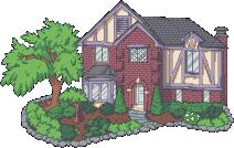 Pixel Advent 17 - Some Random House