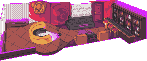 Pixel Advent 20 - Purple Neons