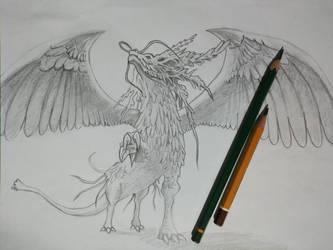 Judgement Dragon  by Where-Dragons-Dwell