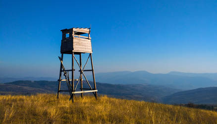Old hunting watchtower by Where-Dragons-Dwell