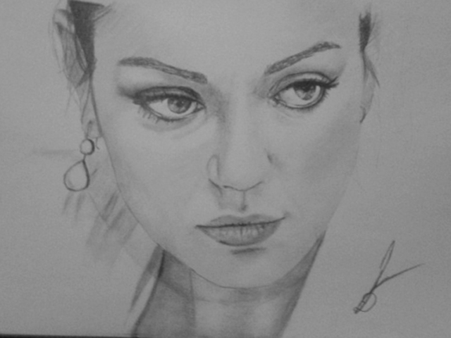 Mila Kunis by RoYakali